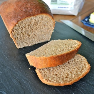 Sprouted Wheat Bread with Milk & Honey