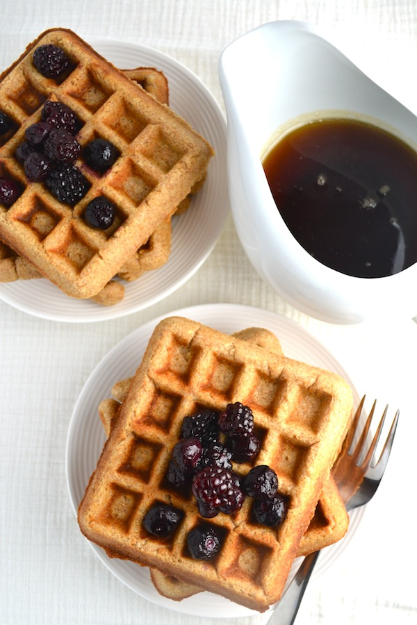 How to freeze homemade waffles. | twothirdscup.com