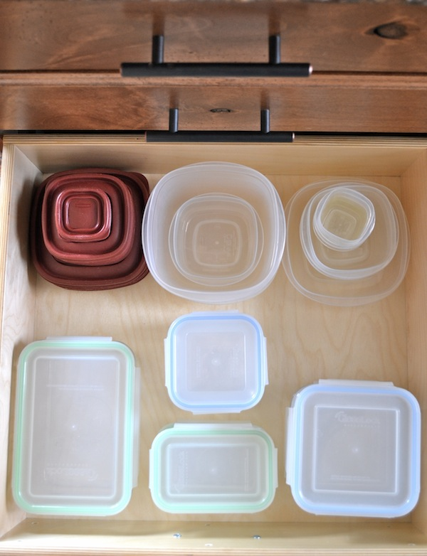 Organized Tupperware