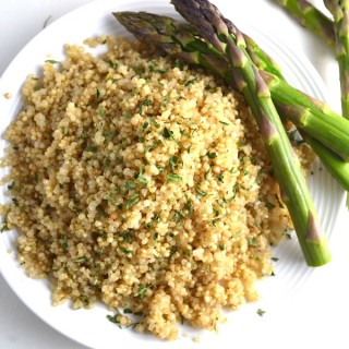 Basic Soaked Quinoa. Learn how to pre-soak your quinoa for better digestibility, nutrient absorption, and a quicker cook time. | twothirdscup.com