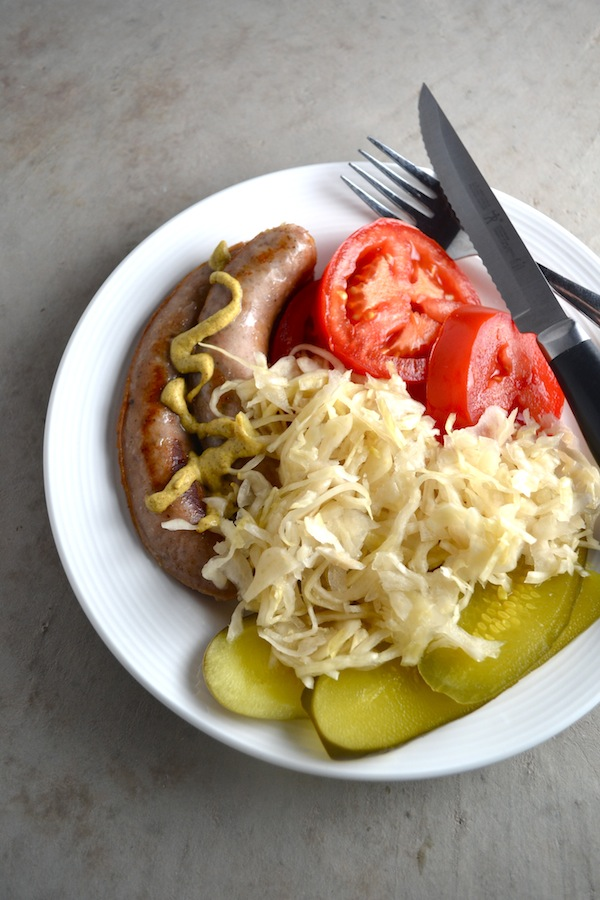 There are health benefits of eating foods that have gone through the lacto-fermentation process. Learn about some tasty fermented foods like sauerkraut and pickles you can add to your diet. | twothirdscup.com