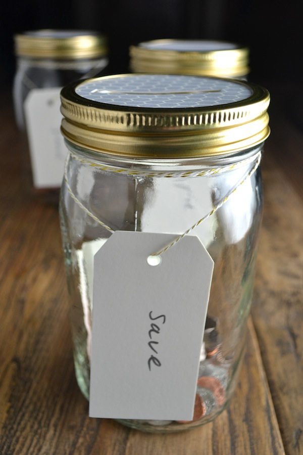 save money jar