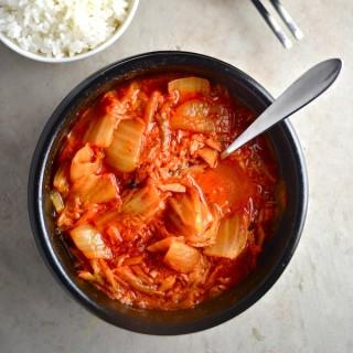 Easy Kimchi Tuna Soup