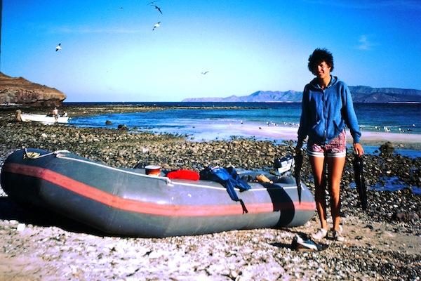 mom and raft