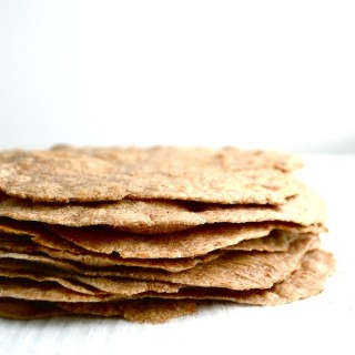 Homemade Sprouted Wheat Tortillas - Made with sprouted wheat flour, lard or butter from pasture-raised animals, and Real Salt. They're healthy and delicious! | twothirdscup.com