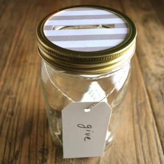 Give, Save, Spend Jars